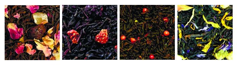 Чорний ароматизований чай