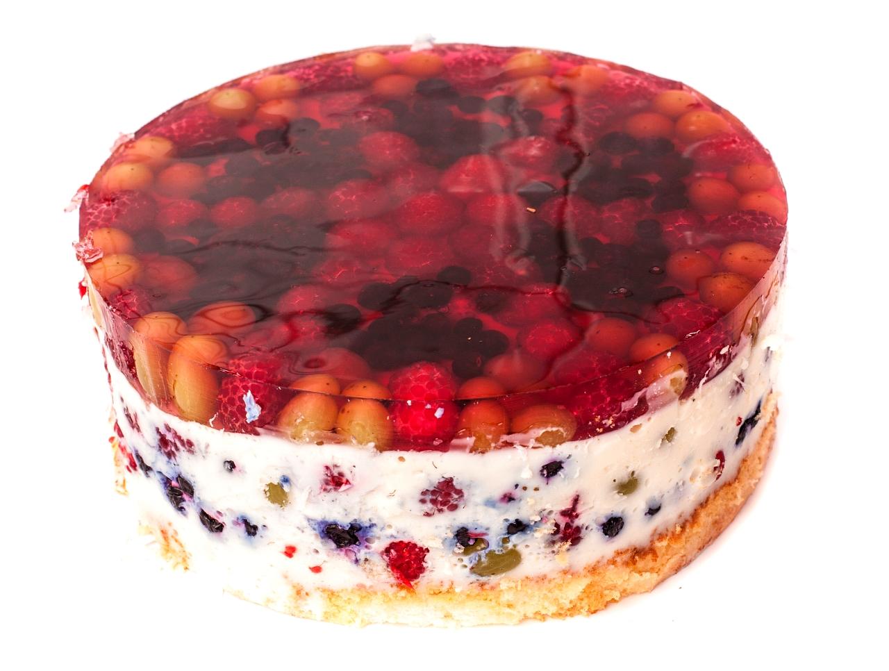 Как сделать желе на торте прозрачным