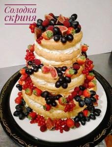 Торт Весільний