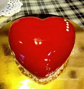 Торт Серденько