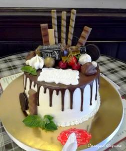 Торт коханому
