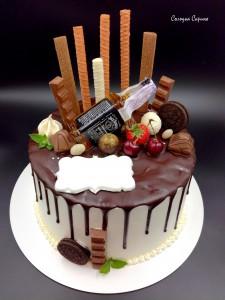 Торт з пляшкою 2