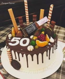 Торт до 50 річчя